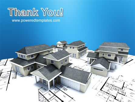House Building PowerPoint Template Slide 20