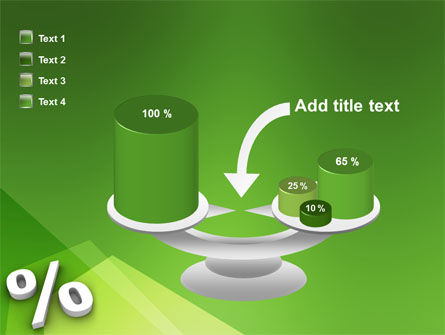 Percent Sign PowerPoint Template Slide 10