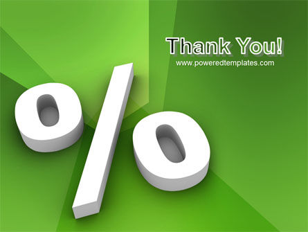 Percent Sign PowerPoint Template Slide 20