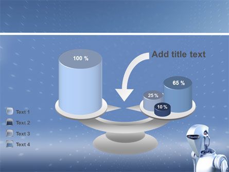 Robot PowerPoint Template, Backgrounds | 02958 ...