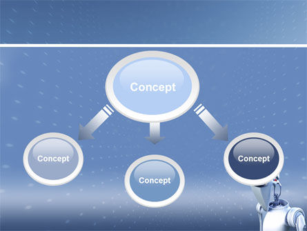 Robot PowerPoint Template Slide 4