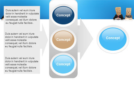 Social Mask PowerPoint Template Slide 11