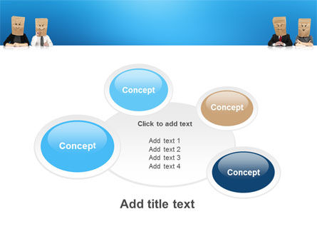 Social Mask PowerPoint Template Slide 16