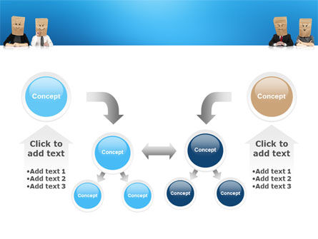 Social Mask PowerPoint Template Slide 19