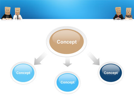 Social Mask PowerPoint Template Slide 4