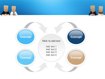 Social Mask PowerPoint Template Slide 6
