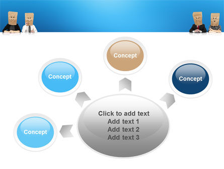 Social Mask PowerPoint Template Slide 7