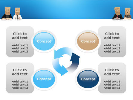 Social Mask PowerPoint Template Slide 9