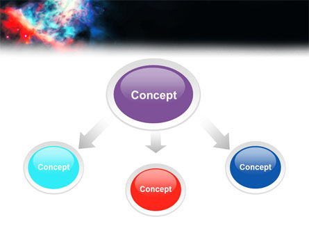 Orion Nebula PowerPoint Template Slide 4