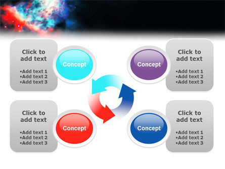 Orion Nebula PowerPoint Template Slide 9
