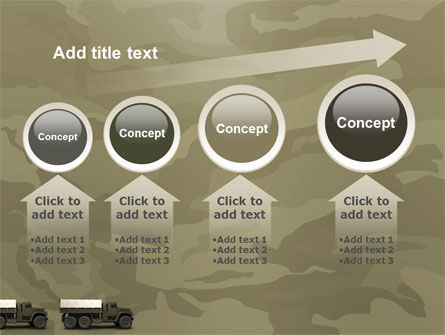Military Truck PowerPoint Template Slide 13