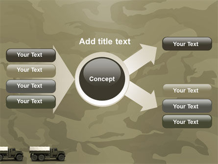 Military Truck PowerPoint Template Slide 14