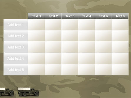 Military Truck PowerPoint Template Slide 15