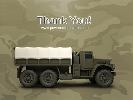 Military Truck PowerPoint Template Slide 20