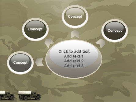 Military Truck PowerPoint Template Slide 7