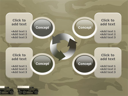 Military Truck PowerPoint Template Slide 9