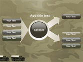 Military Truck PowerPoint Template#14