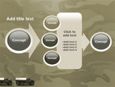 Military Truck PowerPoint Template#17