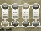 Military Truck PowerPoint Template#18