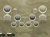 Military Truck PowerPoint Template#19