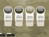 Military Truck PowerPoint Template#5