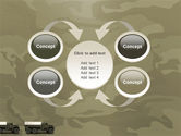 Military Truck PowerPoint Template#6