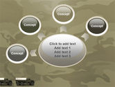 Military Truck PowerPoint Template#7