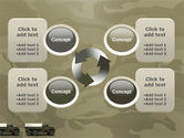 Military Truck PowerPoint Template#9