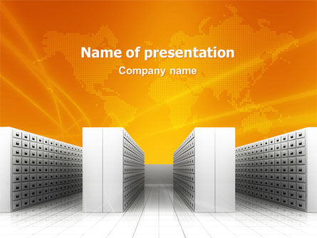 Array PowerPoint Template, 02963, Business Concepts — PoweredTemplate.com