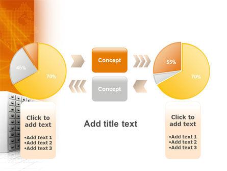 Array PowerPoint Template Slide 16