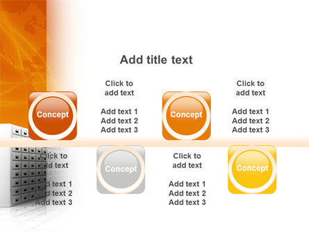 Array PowerPoint Template Slide 18