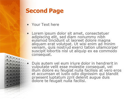 Array PowerPoint Template Slide 2