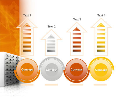 Array PowerPoint Template Slide 7