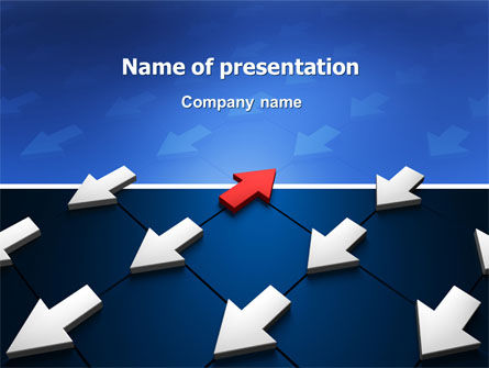 Business Concepts: Private Opinion PowerPoint Template #02965