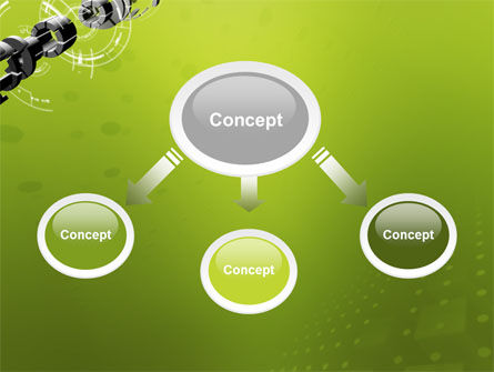 Turned Part PowerPoint Template, Slide 4, 02966, 3D — PoweredTemplate.com