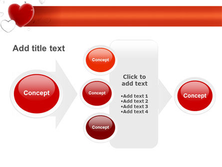 Hearts PowerPoint Template Slide 17