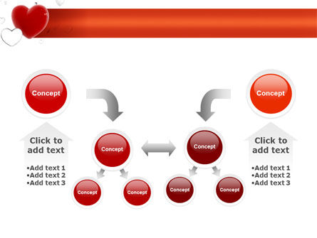 Hearts PowerPoint Template Slide 19