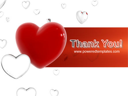 Hearts PowerPoint Template Slide 20
