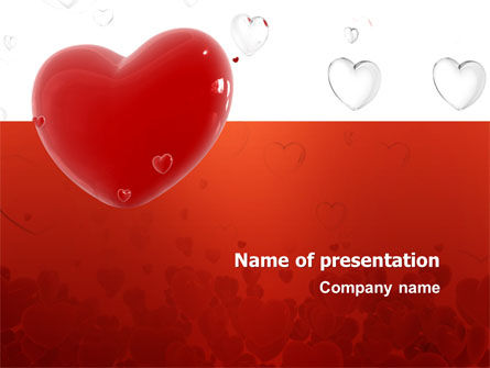 Holiday/Special Occasion: Love You PowerPoint Template #02970