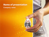 Careers/Industry: Diamond PowerPoint Template #02971