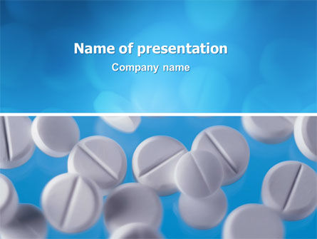 Medical: Medical Treatment PowerPoint Template #02972