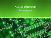 Technology and Science: Integrated Circuit PowerPoint Template #02973
