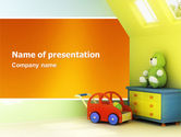 Education & Training: Day Nurseries PowerPoint Template #02974