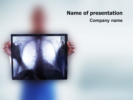 Medical: Lungs PowerPoint Template #02975