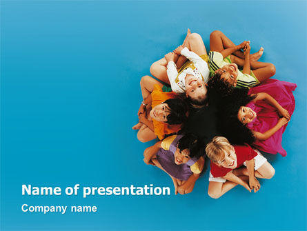 People: Multiplicity PowerPoint Template #02977