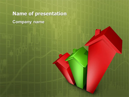 Realty Costs PowerPoint Template, 02978, Financial/Accounting — PoweredTemplate.com