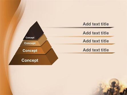 Dandelion Free PowerPoint Template Slide 10