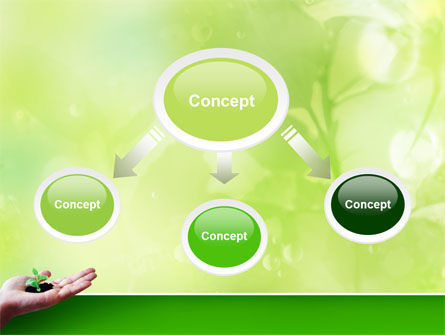 Sprout PowerPoint Template, Slide 4, 02983, Nature & Environment — PoweredTemplate.com