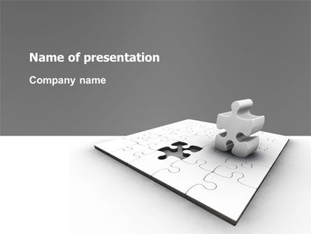 Business Concepts: Part PowerPoint Template #02984