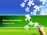 Abstract/Textures: Picture of the World PowerPoint Template #02986